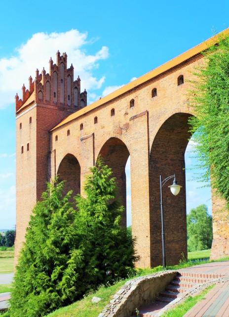 Hygieniska tornet på ordensborgen i Kwidzyn