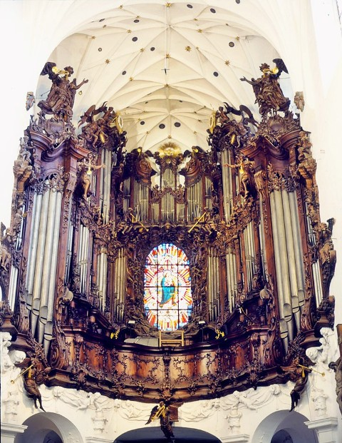 Orgel i Oliwa domkyrkan. Bussgrupper till Polen – Hit The Road Travel