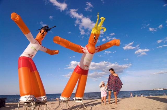 Sopot - på stranden. Klassresa till Gdansk, skolresa till Polen – Hit The Road Travel