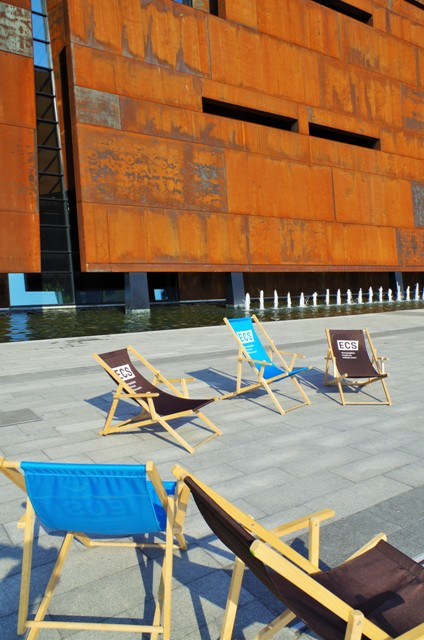 Gdansk - Europeiska Solidaritets Centrum, fasad. Resa till Gdansk – Hit The Road Travel