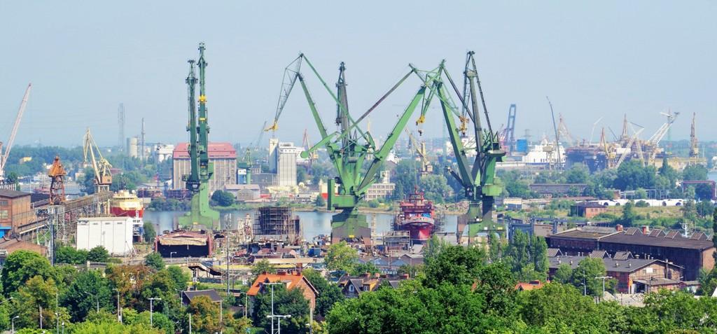 Industrimiljöer i Gdansk Varvet. Resa till Sopot, Gdansk och Gdynia – Hit The Road Travel