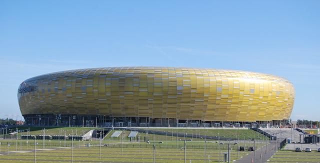 Stadion Energa i Gdansk. Bussgrupper till Polen – Hit The Road Travel