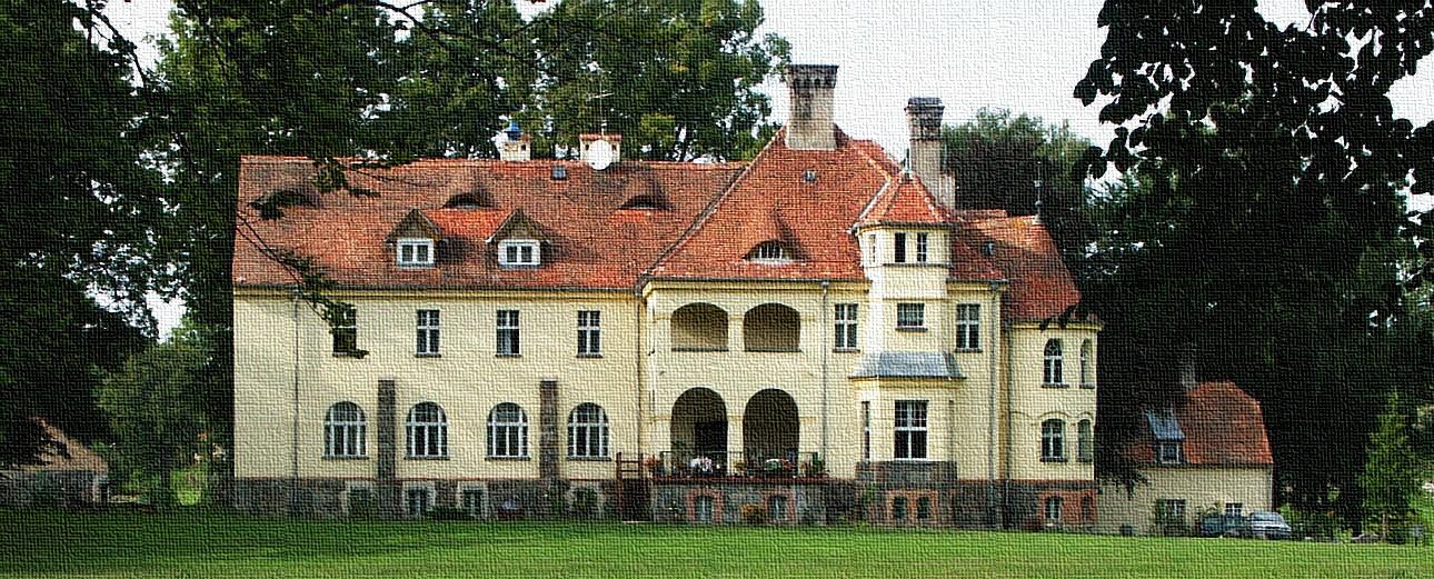 Slawutowko, Familjen von Belows slott