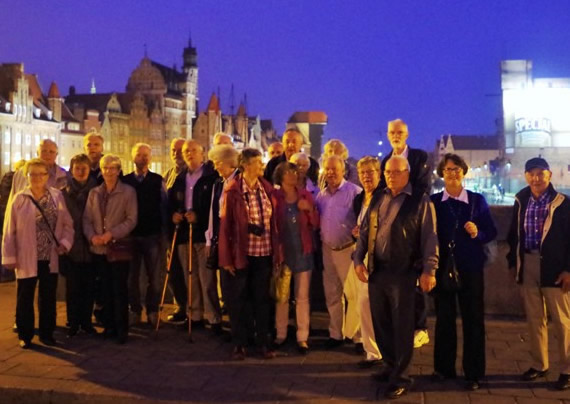 SPF Seniorzy från Västerhaninge i Gdansk