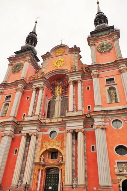 Swieta Lipka, kyrkan