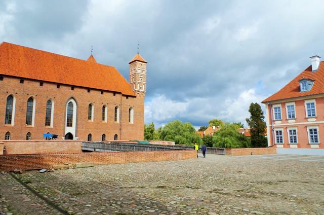 Lidzbark Warmińskni, Ermland biskoparnas residens