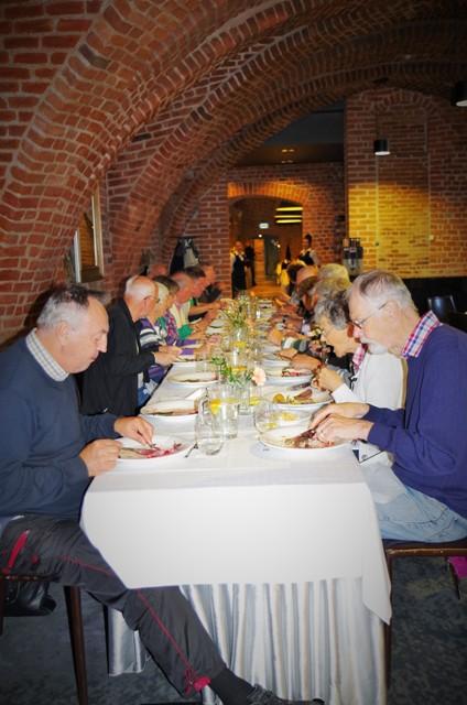 Lunch på slottet i Lidzbark Warminski
