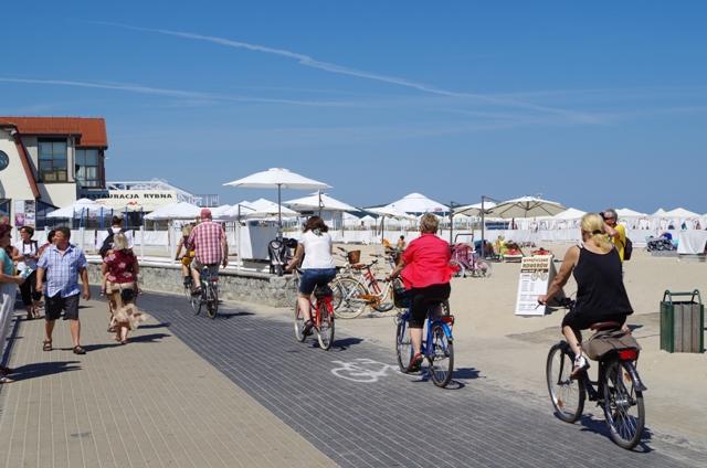 Sopot - cykelled längs stranden. Cykelresor till Polen – Hit The Road Travel