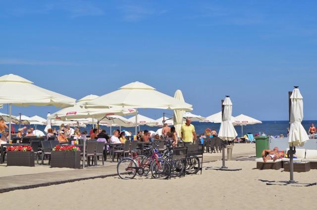 Sopots strand. Cykelresor till Polen – Hit The Road Travel