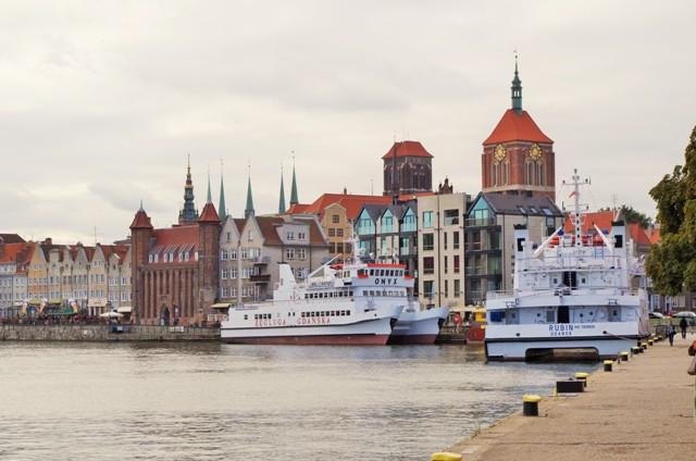 Gdansk, Långa Kajen