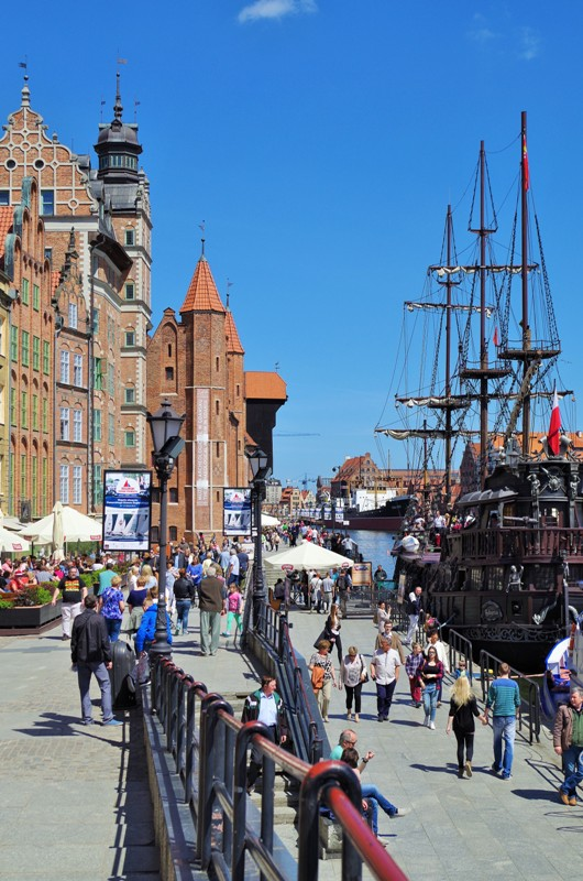 Gdansk - Gamla Hamnen. Gdansk guidad tur, Gdansk guide – Hit The Road Travel