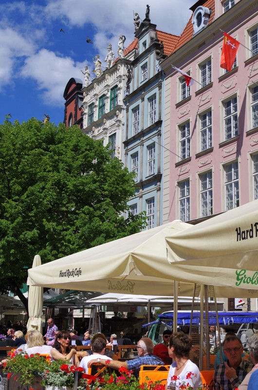 På Långa Torget i Gdansk. Gdansk guidad tur, Gdansk guide – Hit The Road Travel
