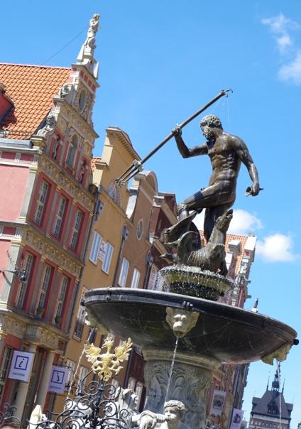 Gdansk, Neptunusfontänen
