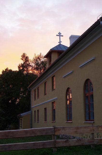 Rysk-ortodoxa gammaltroendes kloster i Wojnowo