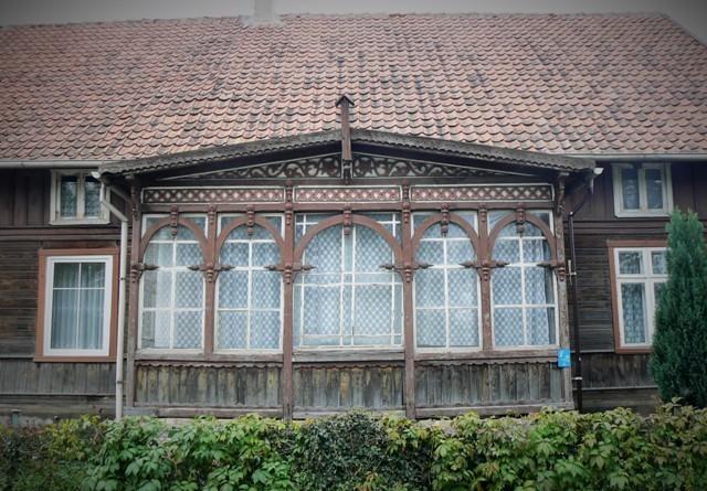 Träarkitektur i Wisladeltat