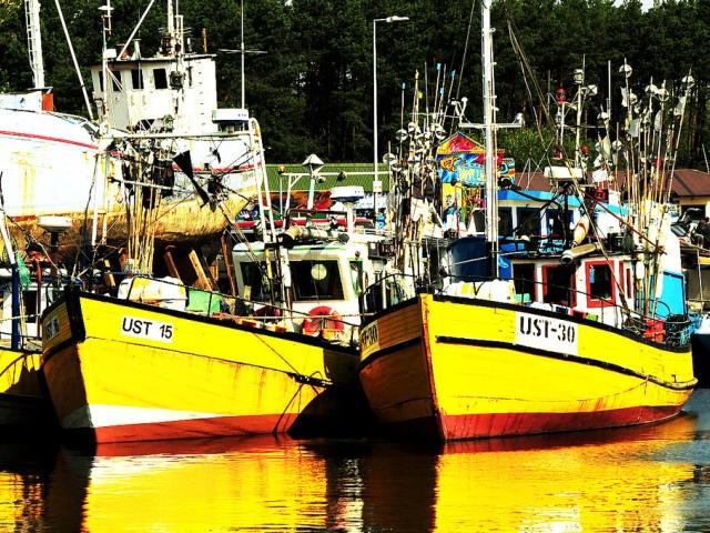 Fiskehamn i Ustka