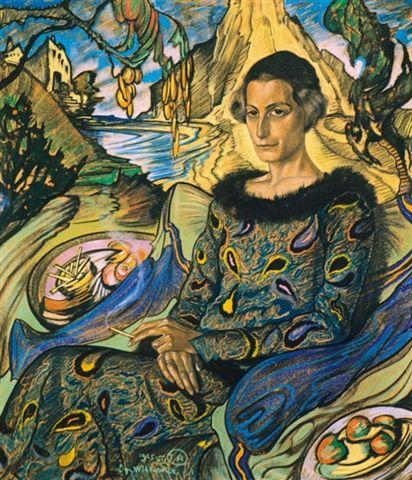 Maria Nurowska porträtterad av Stanislaw Ignacy Witkiewicz Witkacy. Resa till Gdansk – Hit The Road Travel