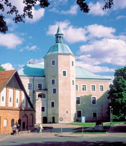 Pommerska prinsarnas slott i Slupsk