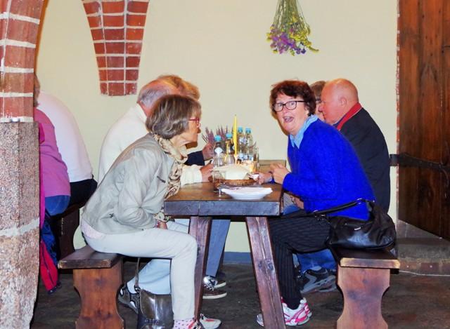 Lunch i Malbork