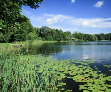 De tusen sjöarnas land i Polen