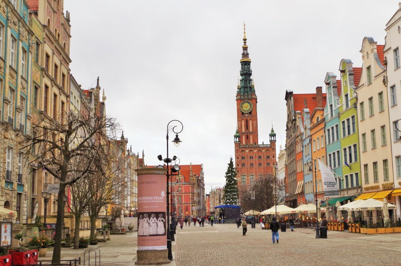 På Långa Torget i Gdansk