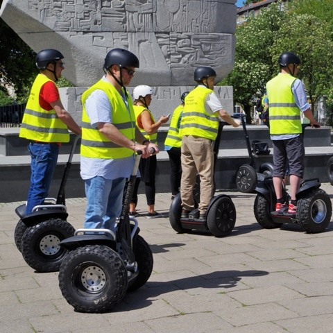 Segway tours in Gdansk, Sopot, Gdynia