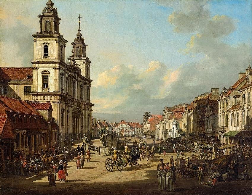 Bernardo Bellotto - Krakowskie Przedmiescie i Warszawa - Resa till Warszawa, Hit The Road Travel