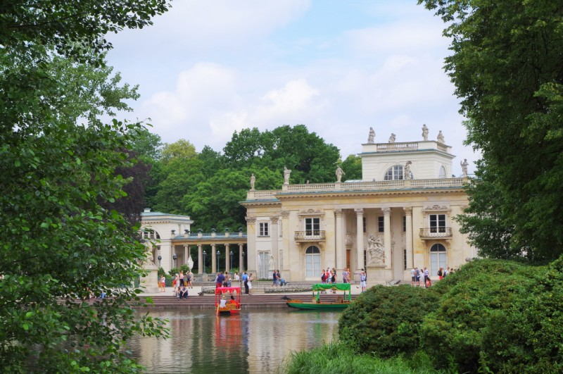 Vattenpalatset i Lazienkiparken. Resa till Warszawa – Hit The Road Travel
