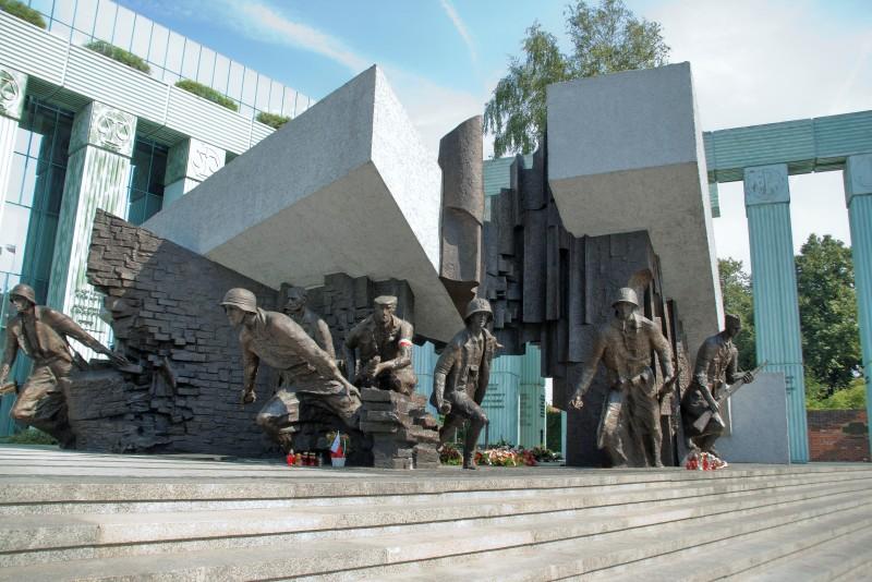 Monumentet för Warszawaupproret. Resa till Warszawa – Hit The Road Travel