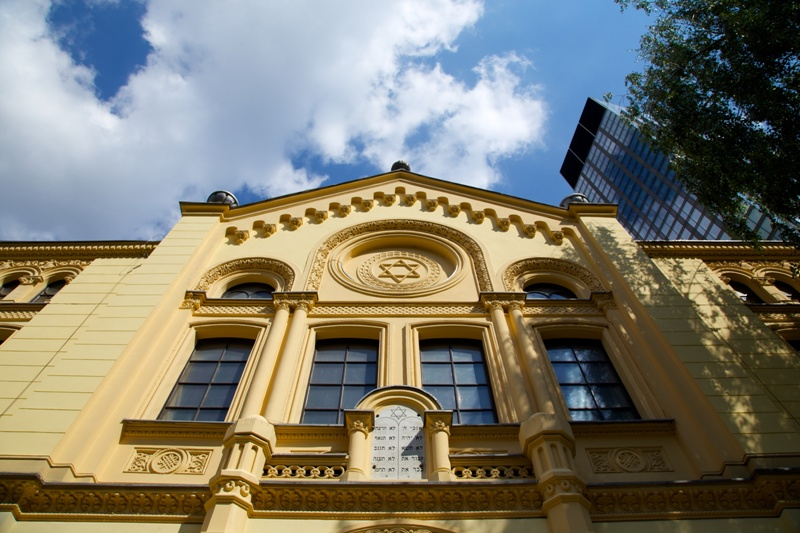 Familjen Nozyks Synagoga i Warszawa. Resa till Warszawa – Hit The Road Travel