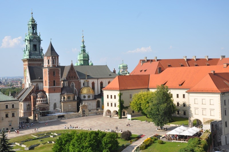 Katedralen og borgen Wawel. Resa till Krakow – Hit The Road Travel
