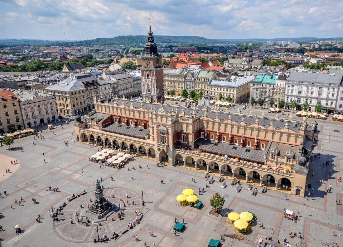 Stortorget i Krakow. Resa till Krakow – Hit The Road Travel