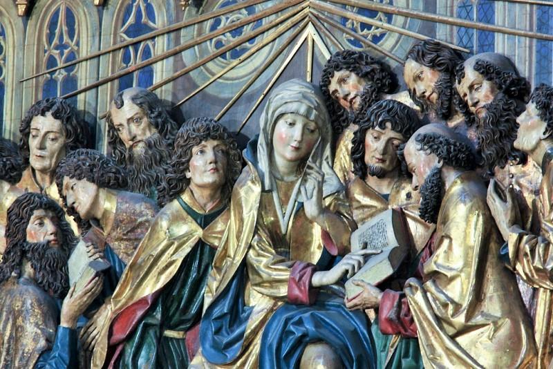 Altaret av Veit Stoss i Mariakyrkan i Krakow - Resa till Krakow - Hit The Road Travel