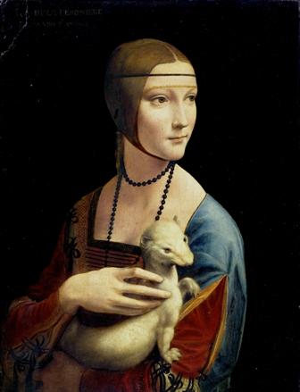 Portret damy złasiczką Leonarda da Vinci