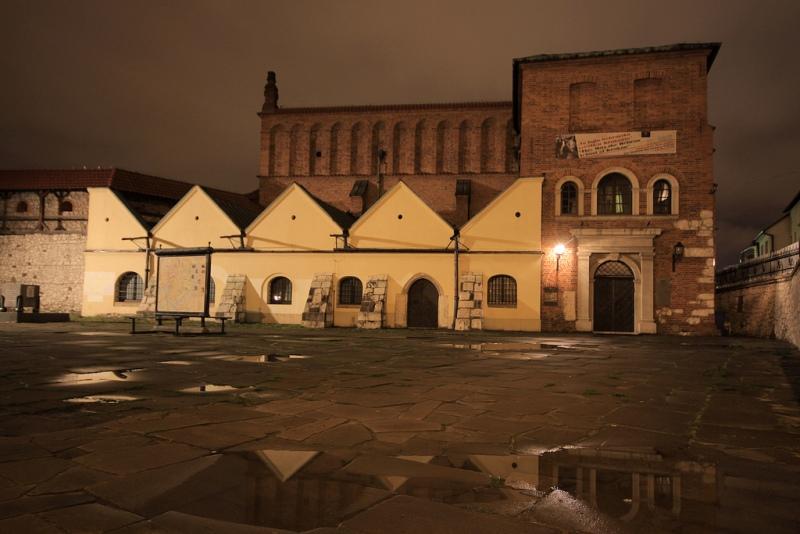 Gamla Synagogan i Kazimierz. Resa till Krakow - Hit The Road Travel